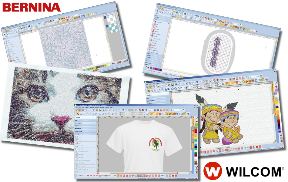 BERNINA-WILCOM Embroidery Software - Programy do haftowania
