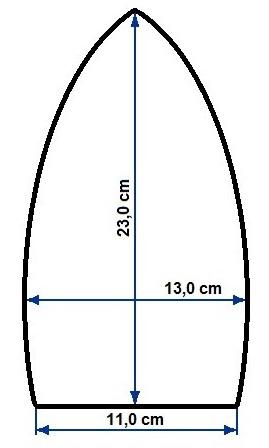 Żelazko krawieckie COMEL GAB 721