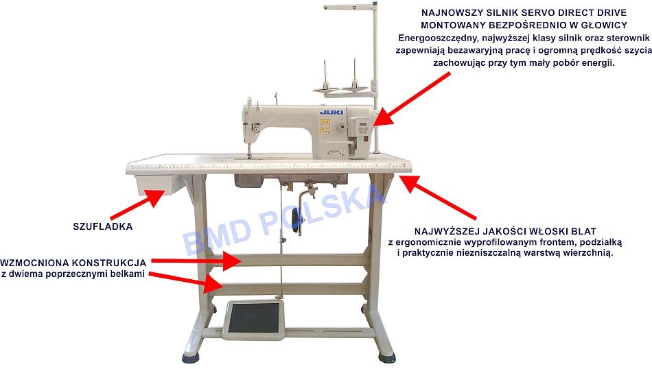 JUKI DDL-8700 DD - Maszyna do szycia typu Stębnówka Przemysłowa