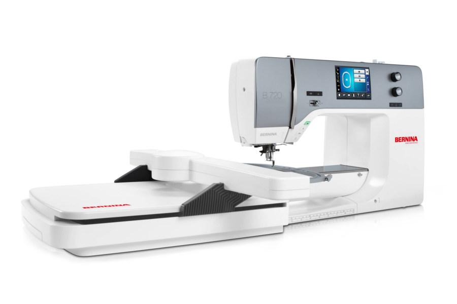 BERNINA B720 - Profesjonalna Multi-Hafciarka i maszyna do szycia w jednym - Dla firm