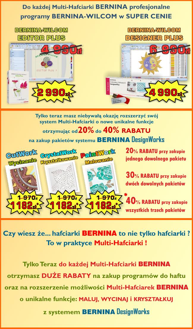 Promocja BERNINA Multi-Hafciarki
