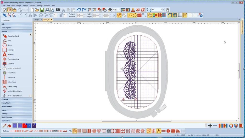Program do haftowania BERNINA-WILCOM Designer 8