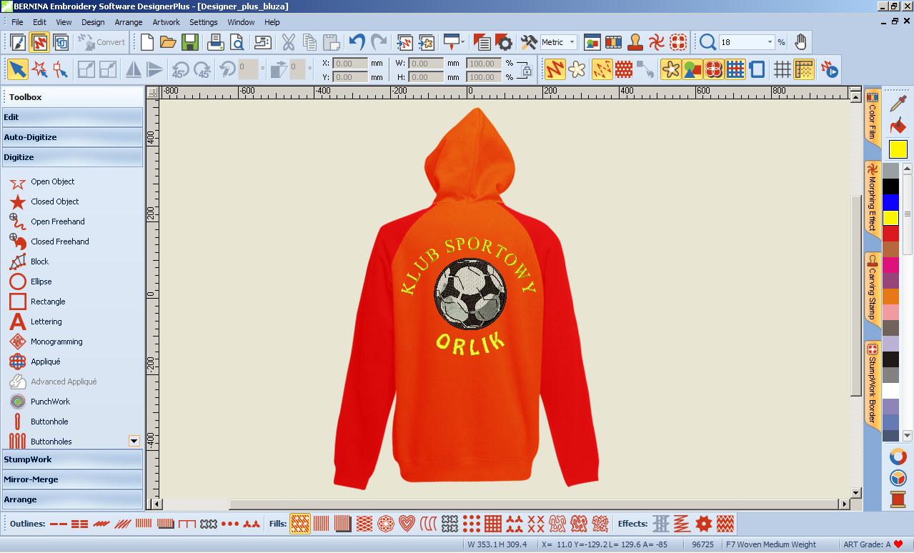 BERNINA-WILCOM Designer - Oprogramowanie do haftu