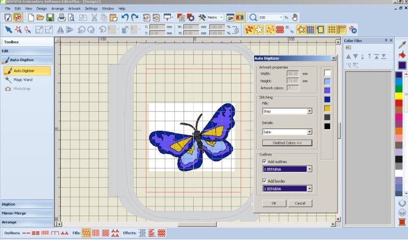 BERNINA-WILCOM Eduitor Plus 7 - Oprogramowanie hafiarskie