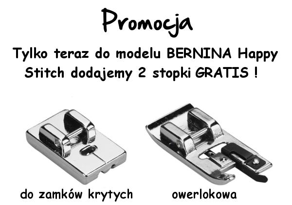 BERNINA Happy Stitch - Promocja maszyny do szycia
