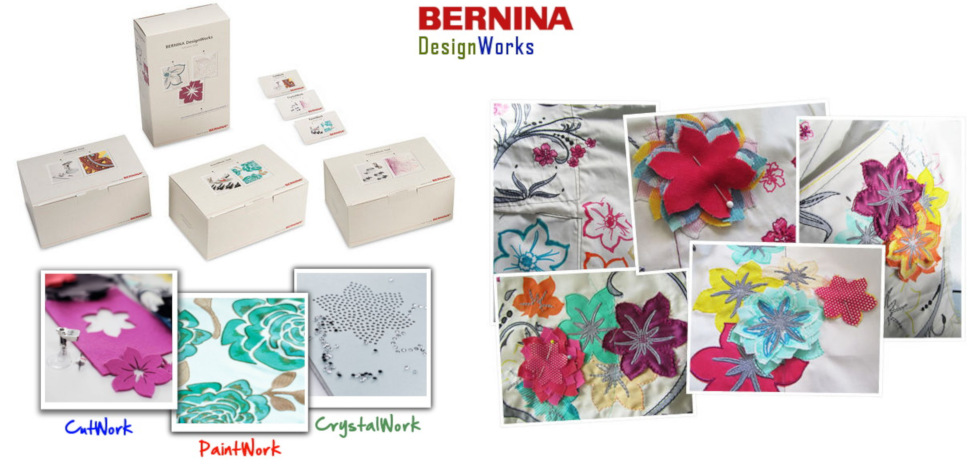 BERNINA DesignWorks - System dodatkowych narzędzi do multi-hafciarek