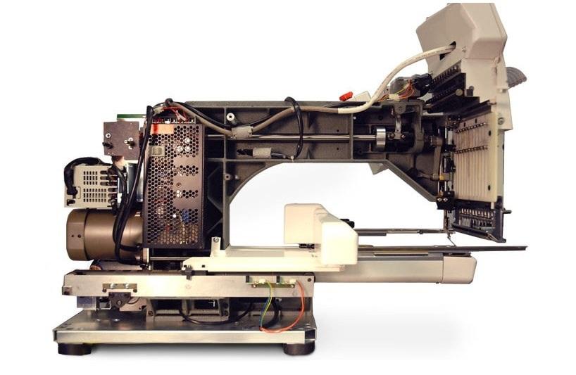 Konstrukcja przemysłowej hafciarki komputerowej HAPPY HCH 701P 30