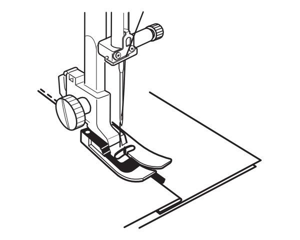 Stopka krawędziowa do maszyn BERNINA bernette B37 i B38