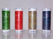 Profesjonalne nici hafciarskie zmieniające kolor METTLER Poly Sheen MultiColor 200m