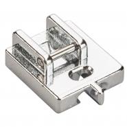 Stopka zatrzaskowa do wszywania zamków krytych (suwaków, ekspresów) do maszyny do szycia