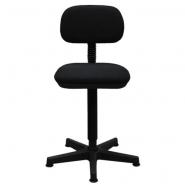 Krzesło szwalnicze do każdej maszyny do szycia, tapicerowane, regulowana wysokość