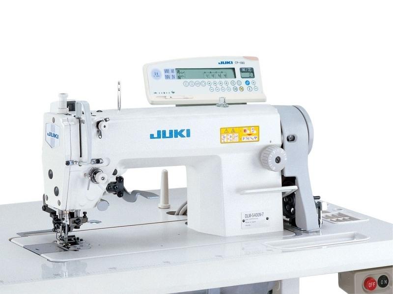 JUKI DLM 5400 N-7 Stębnówka z odkrawaczem krawędziowym i automatyką