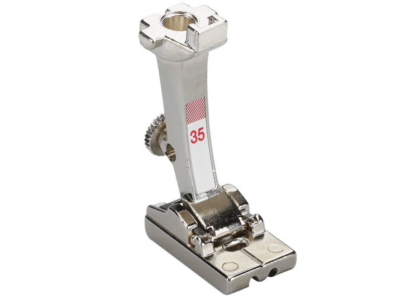 Stopka trzepieniowa do maszyn do szycia BERNINA Professional - #35 do wszywania zamka błyskawicznego