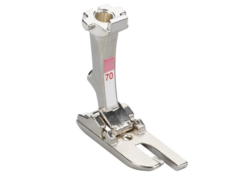 Stopka trzepieniowa do maszyn do szycia BERNINA Professional - #70 do zakłądek i płaskich szwów o szerokości 4mm