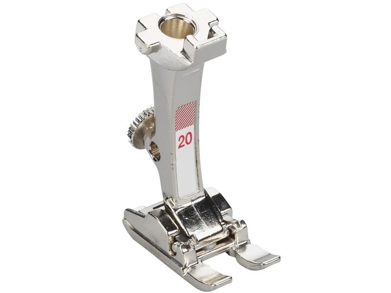 Stopka trzepieniowa do maszyn do szycia BERNINA Professional - #20 otwarta stopka do śceigów dekoracyjnych i haftowania. Ścieg do 5.5mm