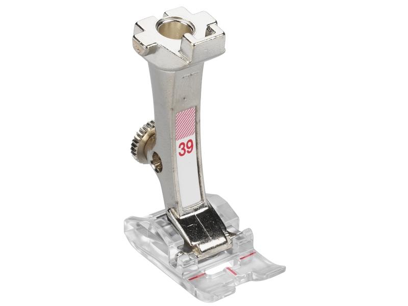 Stopka trzepieniowa do maszyn do szycia BERNINA Professional - #39 przeźroczysta stopka do śceigów dekoracyjnych. Ścieg do 5.5mm