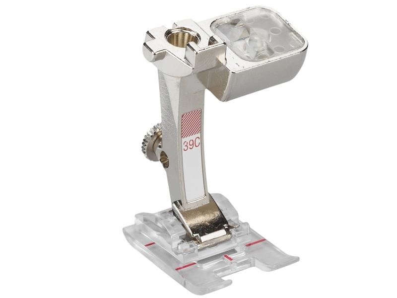 Stopka trzepieniowa do maszyn do szycia BERNINA Professional - #39C przeźroczysta stopka do śceigów dekoracyjnych. Ścieg do 9mm