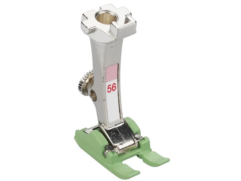 TEFLONOWA Stopka trzepieniowa do maszyn do szycia BERNINA Professional - #56 otwarta do ściegów dekoracyjnych i haftowania