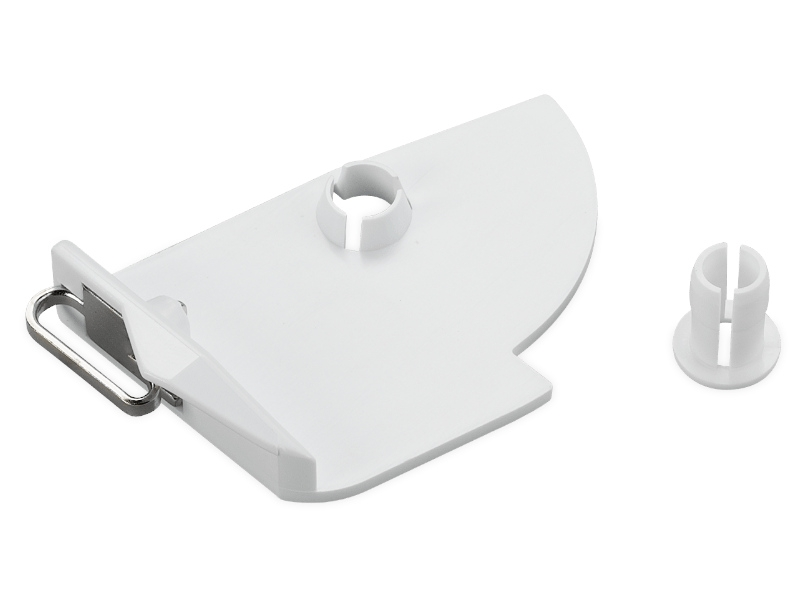 Dodatkowy prowadnik nici. Przystawka do nici metalicznych, jedwabnych, metalizowanych.