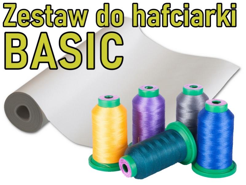 """Zestaw startowy do hafciarek i multi-hafciarek - Wariant: """"BASIC"""""""
