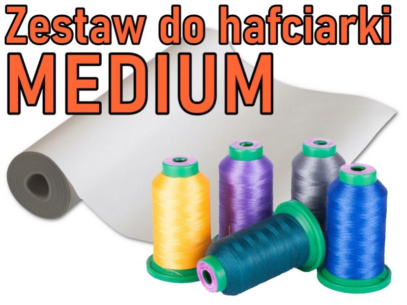 "Zestaw startowy do hafciarek i multi-hafciarek - Wariant: ""MEDIUM"""