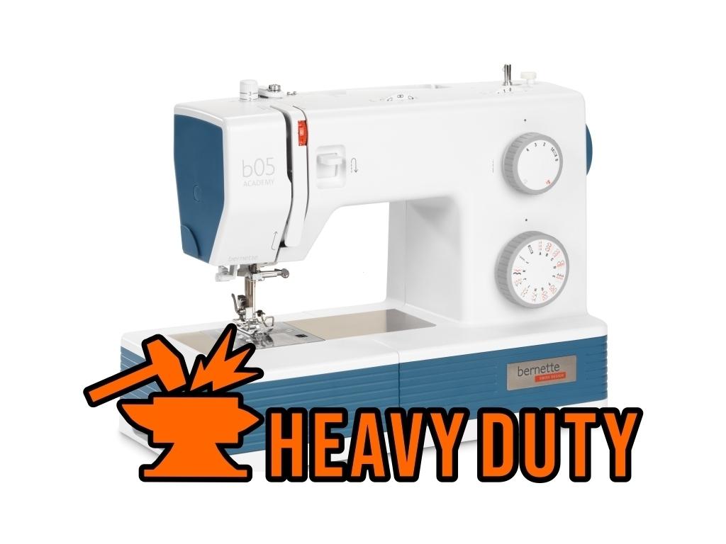 Najbogatsza wersja maszyna do szycia klasy Heavy Dyty BERNINA AG ACADEMY