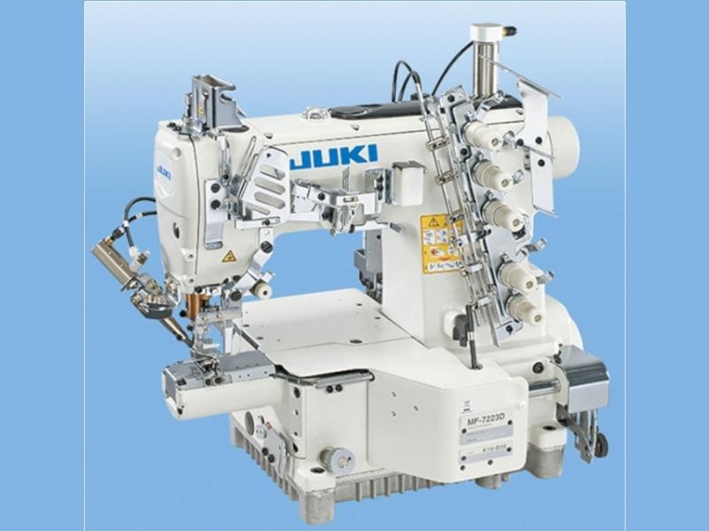 JUKI MF 7223 D B56 (B64) UT45 - Automatyczna renderka cylindryczna (mały cilinder) pneumatyczna