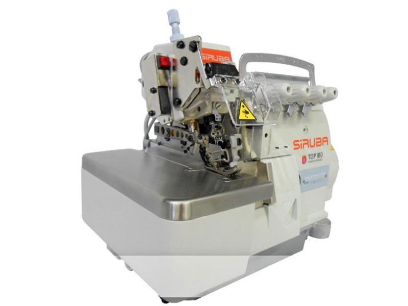 SIRUBA 757L ECA -  Owerlok 5-nitkowy z automatycznym obcinaniem nici i odsysaniem