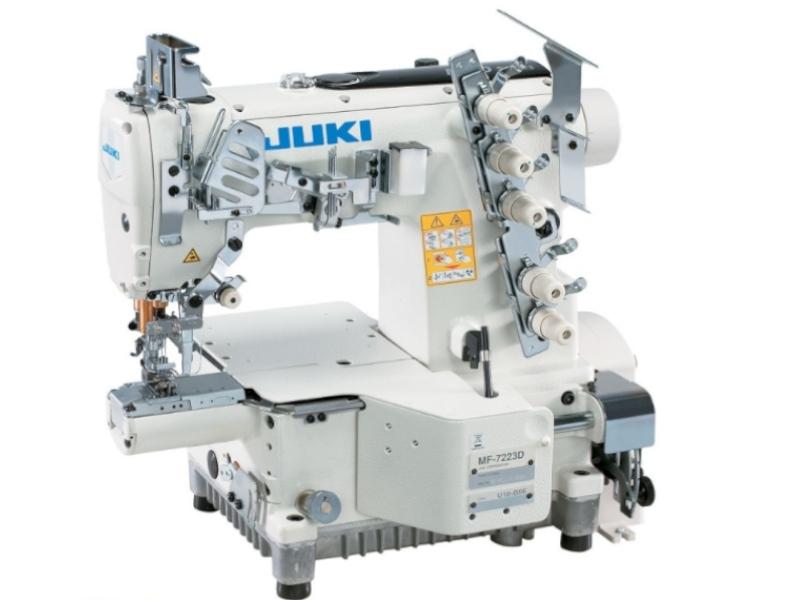 JUKI MF 7223 D U10 B64 B56 - Mechaniczna maszyna drabinkowa renderka cylindryczna (mały cilinder)