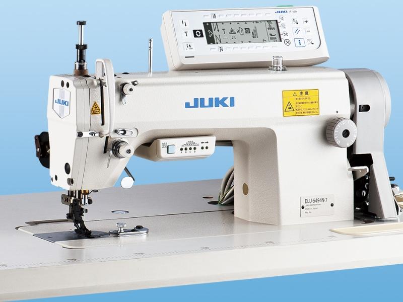 JUKI DLU 5490N-7 - Automatyczna stębnówka do marszczenia