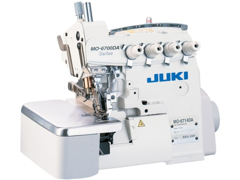 JUKI 6716 DA - Przemysłowy overlock 5-nitkowy pół-suchy (Semi-Dry)