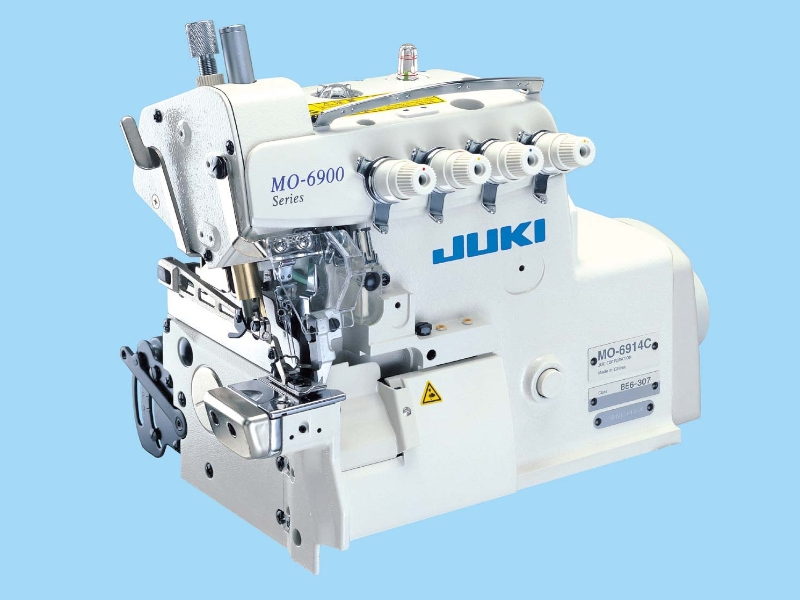 JUKI 6914 C - Przemysłowy owerlok cylindryczny 4-nitkowy