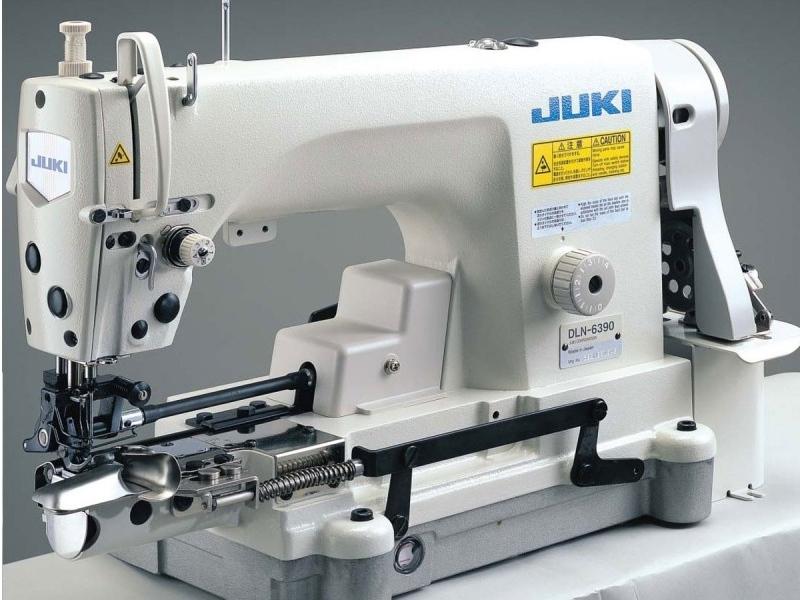 JUKI DLN 6390 S - Stębnówka do podwijania nogawek spodni Jeansowych