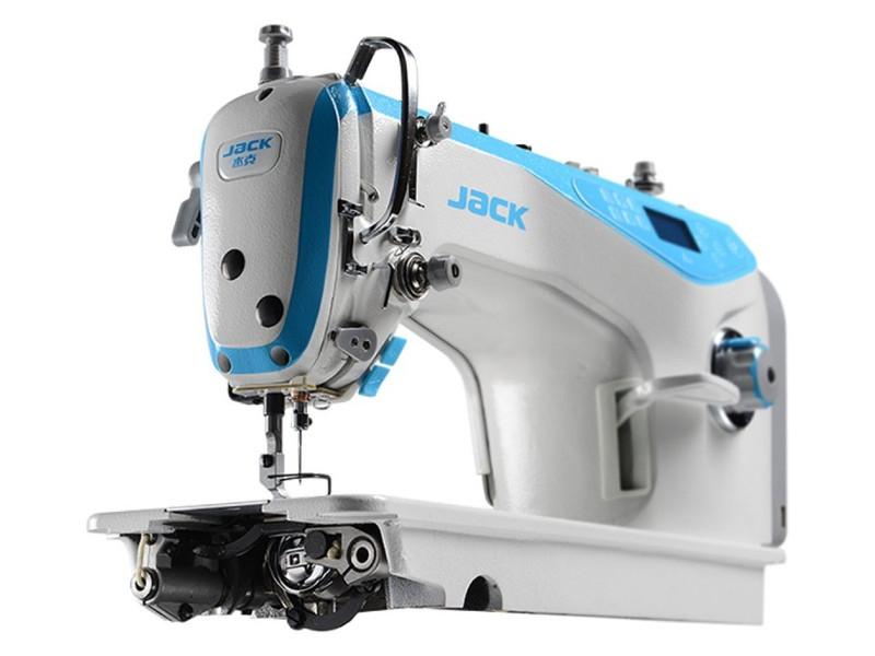 JACK A4 S PL - Automatyczna stębnówka z zamkniętym układem smarowania