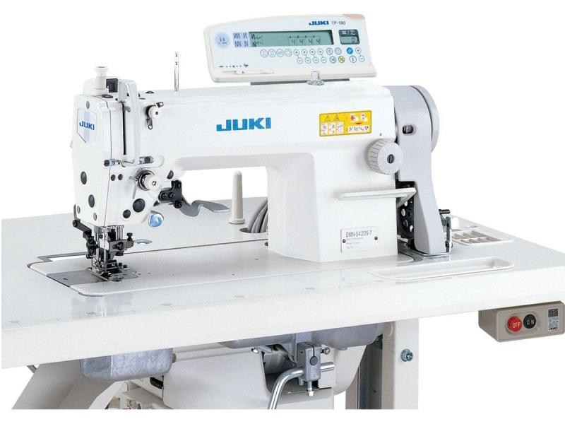 JUKI DMN 5420 N-7 - Automatyczna stębnówka z transportem różnicowym i odkrawaczem