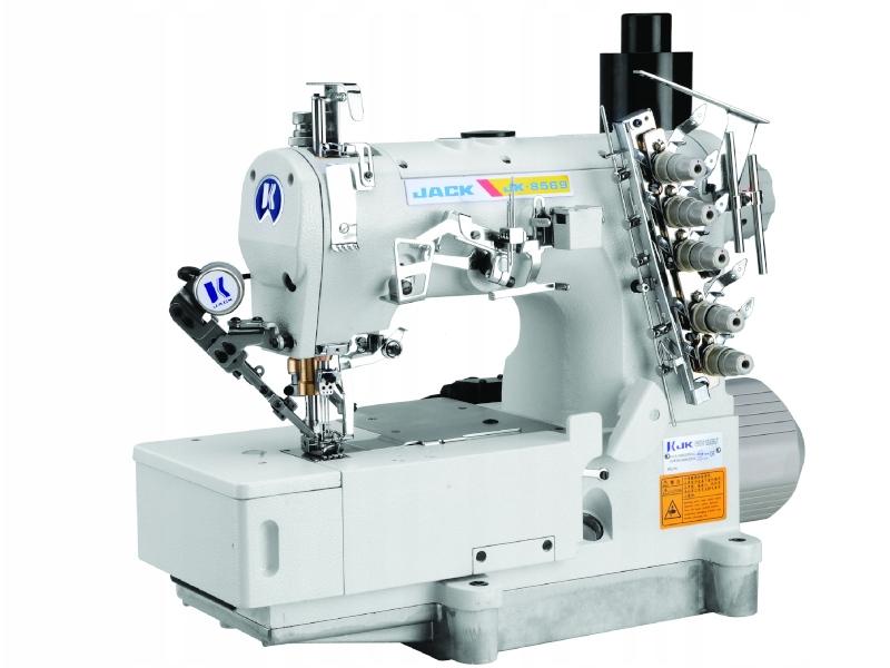 JACK JK 8569 E - Przemysłowa maszyna drabinkowa z cięciem nici poprzednik JACK W4-UT