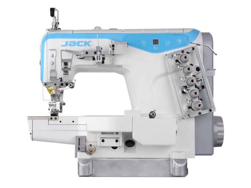 JACK K4 D - Przemysłowa maszyna do szycia typu Renderka cylindryczna 3-igłowa
