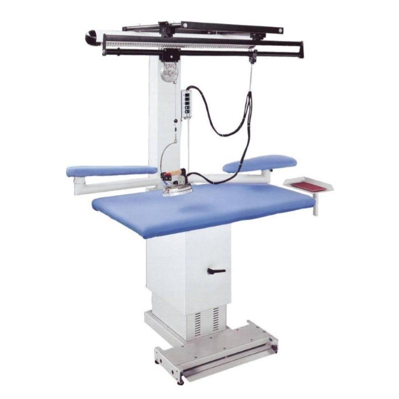 COMEL MP-A-RS - Prostokątny stół do prasowania z regulowaną wysokością i nadmuchem