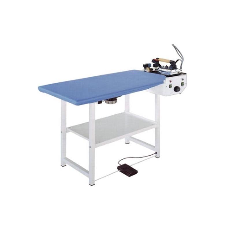 COMEL FUTURA RC - Prostokątny stół do prasowania z wytwornicą 1,5L z żelazkiem i stopą teflonową
