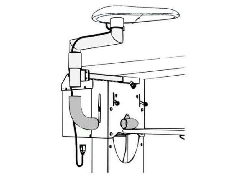 Podstawa prasulca do stołu prasowalniczego COMEL BR/A SXD