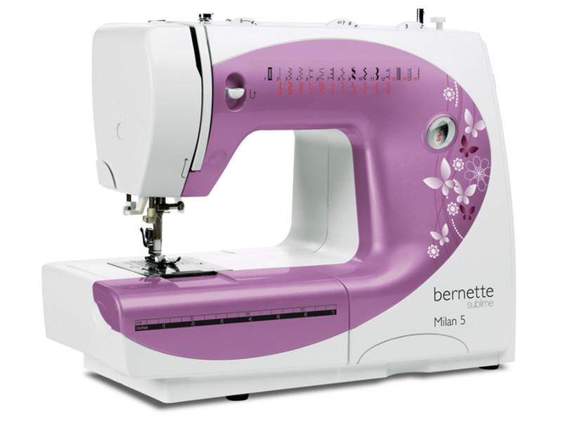 Nowoczesna mechaniczna maszyna do szycia BERNINA AG M-5 na prezent dla każdego