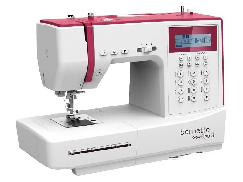 Komputerowa elektroniczna zaawansowana maszyna do szycia BERNINA AG SG-8