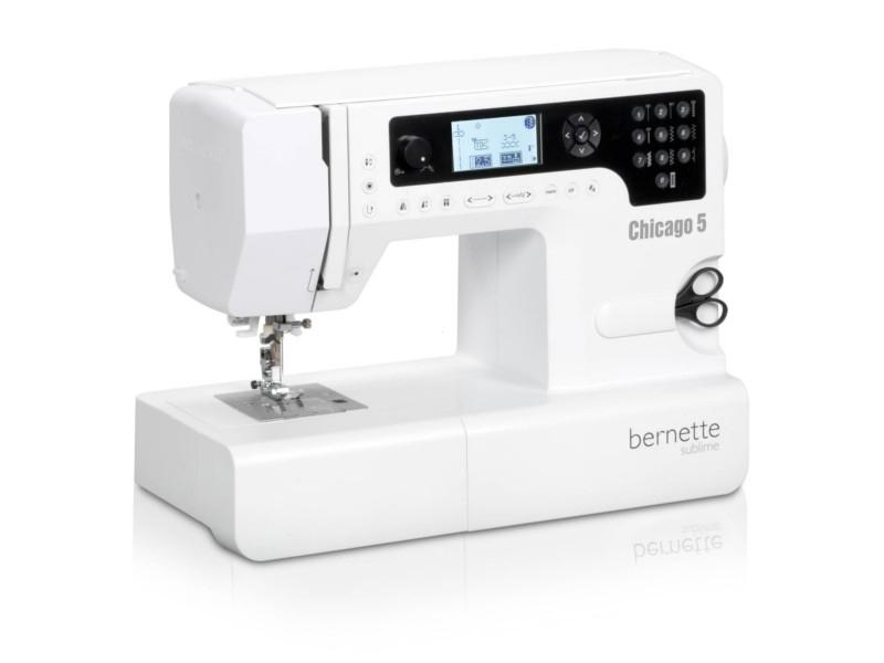 Zaawansowana komputerowa elektroniczna maszyna do szycia BERNINA AG CH-5 dla wymagających