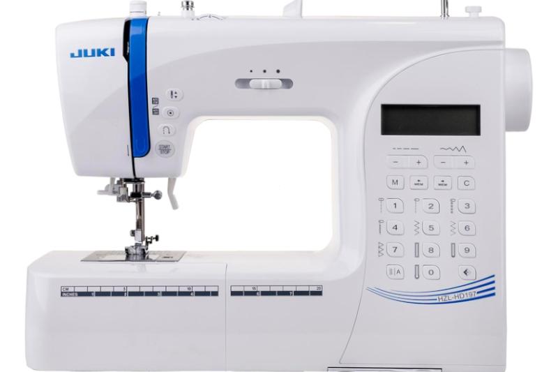 Zaawansowana komputerowa maszyna do szycia JUKI corp. HZL HD 197