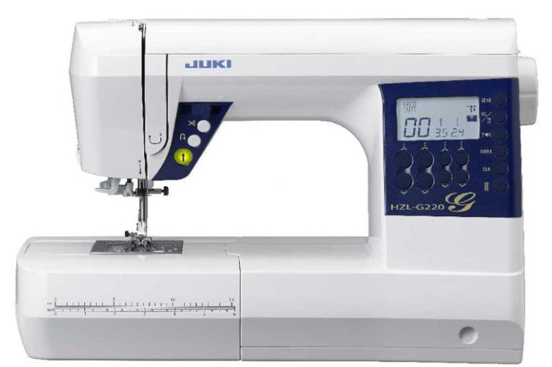 Intuicyjna komputerowa maszyna do szycia dla wszystkich JUKI corp. HZL G220