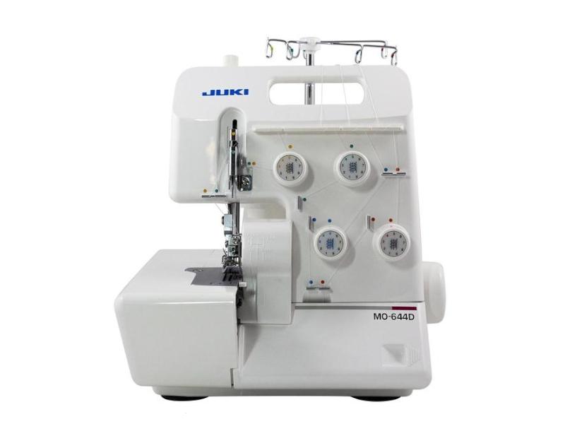 Bardzo szybki i solidny owerlok 4-nitkowy dla wymagających JUKI corp. MO 654 DE