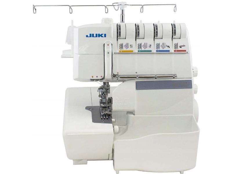 Urządzenie typu COMBO owerlok 5-nitkowy i renderka z łańcuszkiem w jednym JUKI corp. MP 735