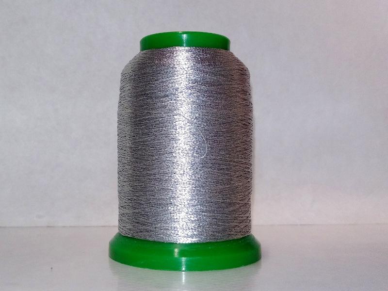 Metalizowane SREBRNE specjalistyczne nici hafciarskie ISAMET 1000m