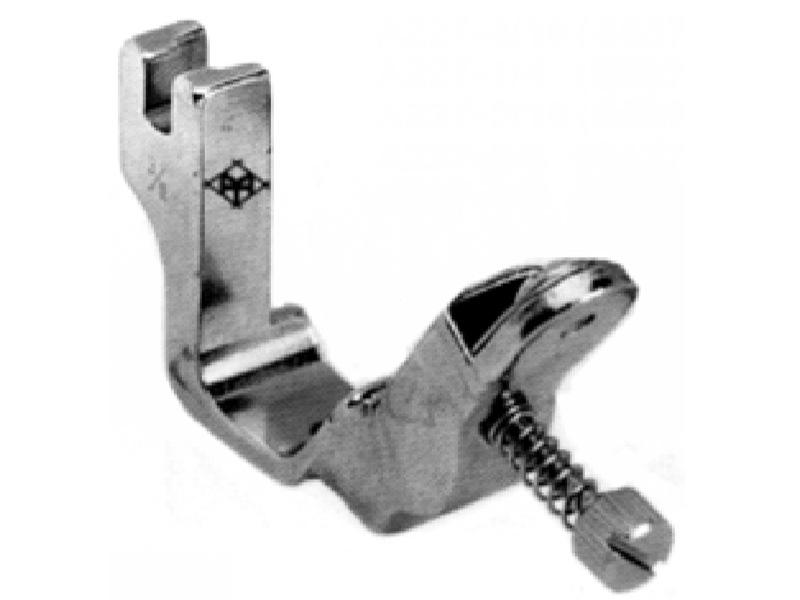 Stopka do wszywania gumy A227 / S537 z regulacją naciągu do stębnówek przemysłowych. Rozmiary !