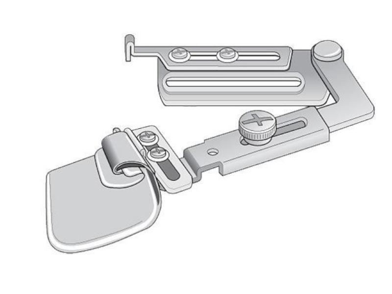 Zwijacz podwójnie obrębiający A11 do stębnówki przemysłowej. Różne rozmiary podwinięcia